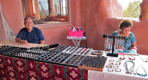 The Goodlucks, Navajo Silversmiths | NPS Photo