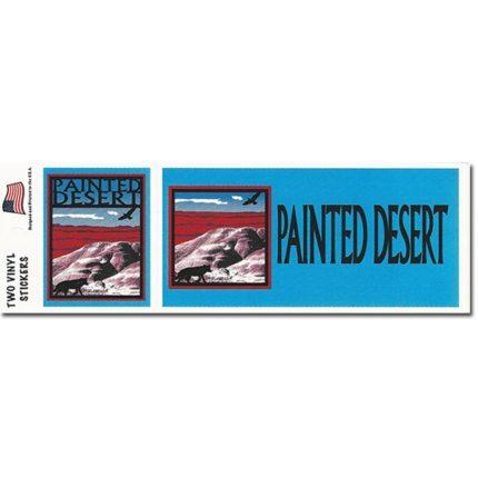 Painted Desert Bumper Sticker Set