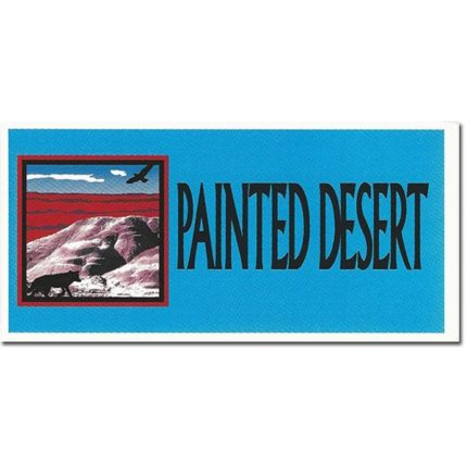 Painted Desert - Bumper Sticker