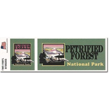 Petrified Forest Bumper Sticker Set