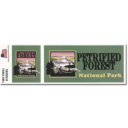 Petrified Forest Bumper Sticker Set