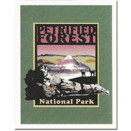 Petrified Forest Small Sticker