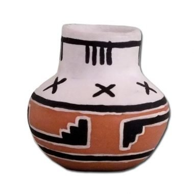 Miniature Native American Pottery Replica
