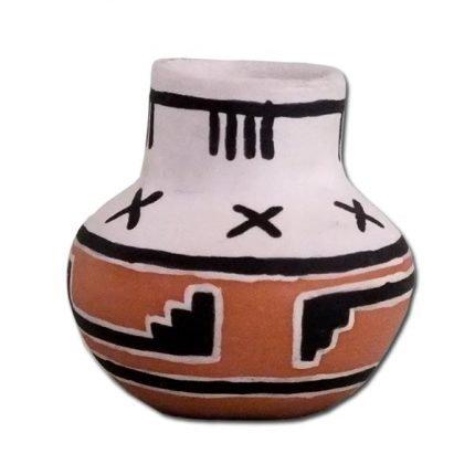 Miniature Native American Pottery Replica