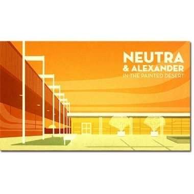 Neutra & Alexander Special Edition Magnet