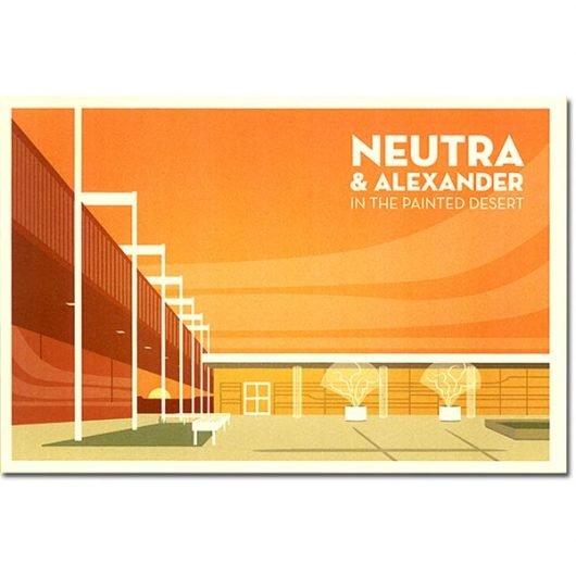 Neutra & Alexander Special Edition Postcard