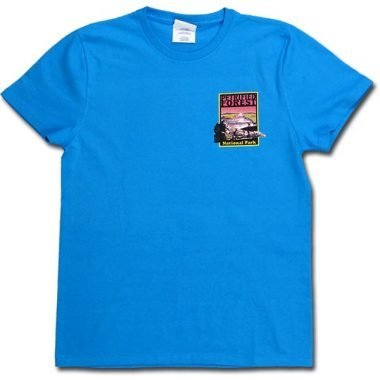 Petrified Forest T-Shirt in Sapphire