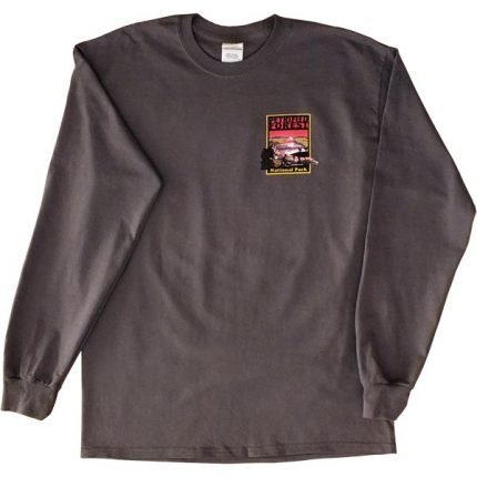 Adult Long Sleeve T-Shirt in gray