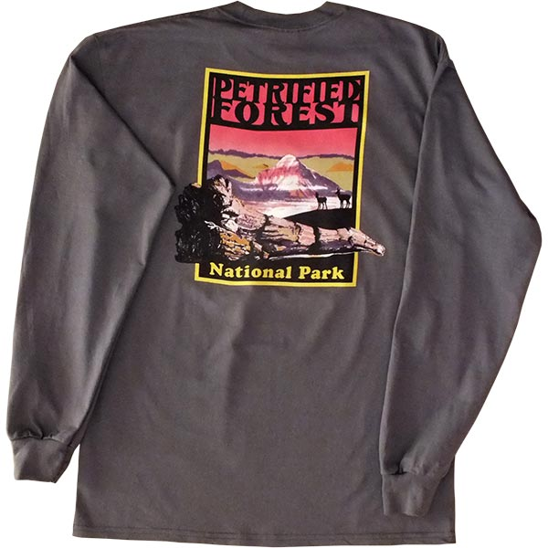 Adult Long Sleeve T-Shirt - back view