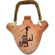 Hopi Water Jug - Bird Design