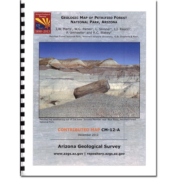 Geologic Map of Petrified Forest Booklet