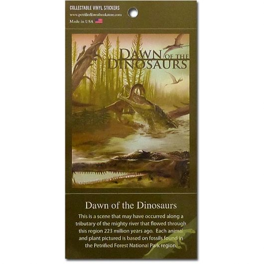 Dawn of the Dinosaurs Collectible Vinyl Sticker