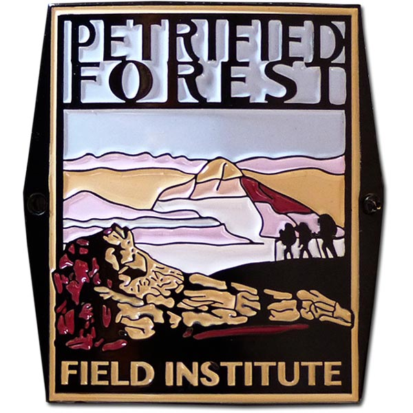 Petrified Forest Field Institute Walking Stick Medallion