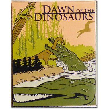 Dawn of the Dinosaurs Lapel Pin