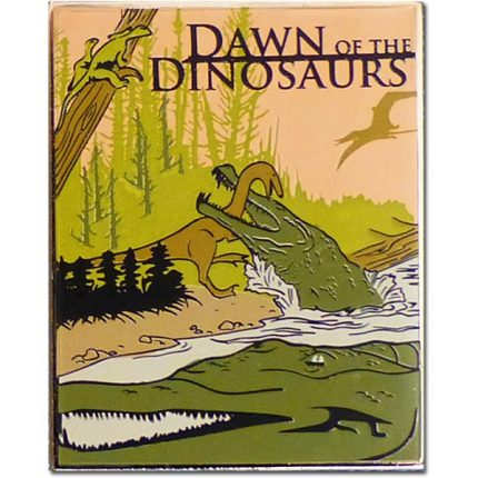Dawn of the Dinosaurs Lapel Pin