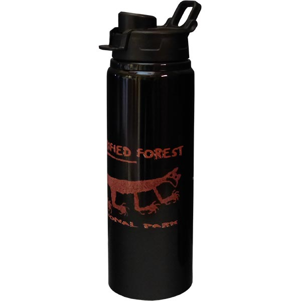 Mountain Lion Petroglyph Water Bottle