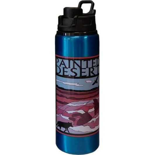 Painted Desert Logo Water Bottle
