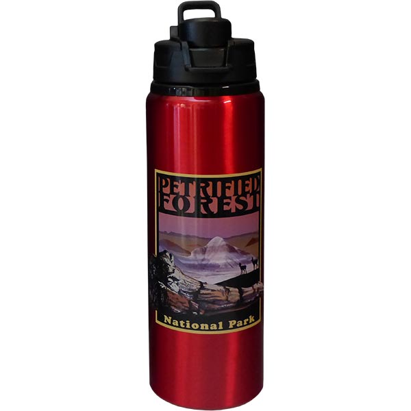 Petrified Forest National Park Logo Water Bottle