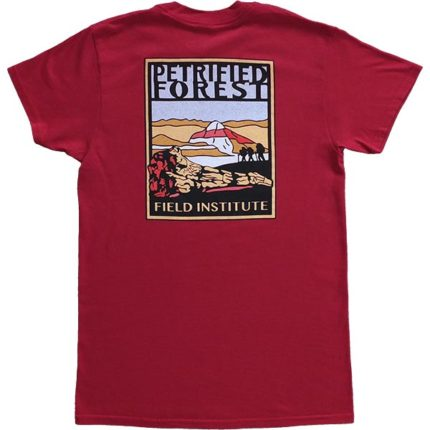 Field Institute T-Shirt - Dark Red (Back)