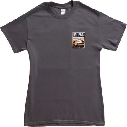 Field Institute T-Shirt - Charcoal (Front)