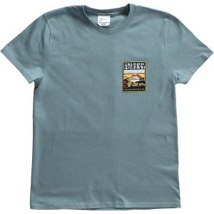 Field Institute T-Shirt - Blue Steel (Front)