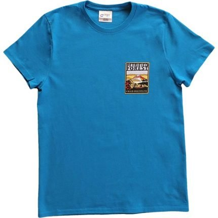 Ladies Field Institute T-Shirt - Bright Blue (Front)