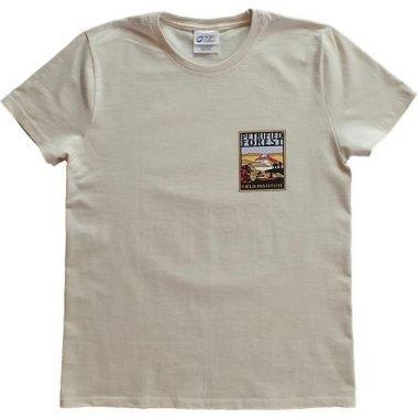Ladies Field Institute T-Shirt - Cream (Front)