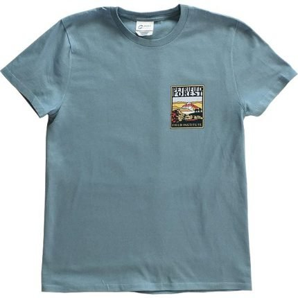 Ladies Field Institute T-Shirt - Steel Blue (Front)
