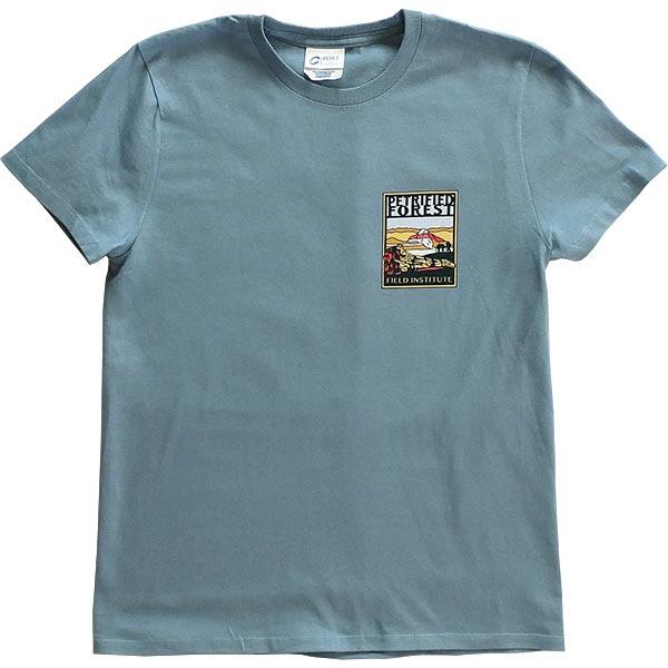 Ladies Field Institute T-Shirt - Steel Blue (Front)