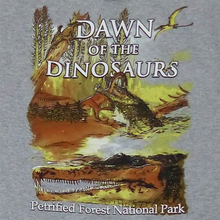 Dawn of the Dinosaurs Hoodie Sweatshirt - Logo