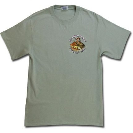 Dawn of the Dinosaurs T-Shirt - Bay Leaf