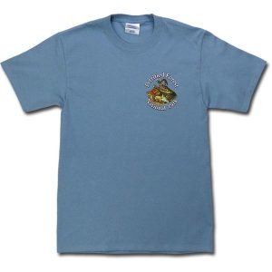 Dawn of the Dinosaurs T-Shirt - Slate Blue