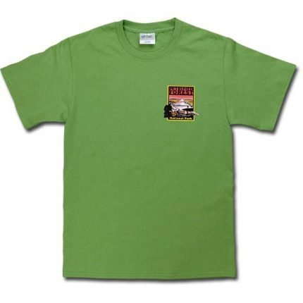 Petrified Forest Logo T-Shirt in Green