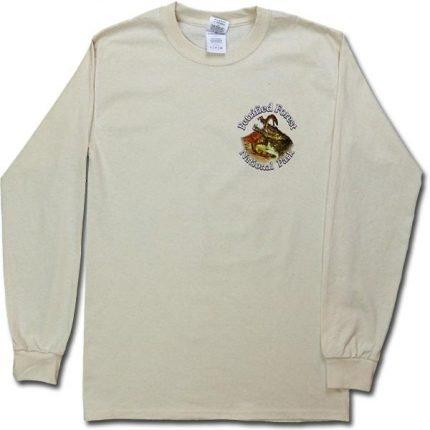 Long Sleeve Dawn of the Dinosaurs T-Shirt - Cream