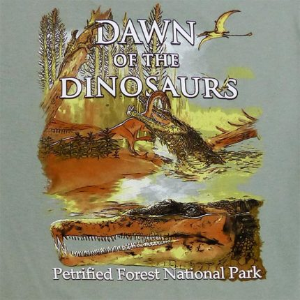Long Sleeve Dawn of the Dinosaurs T-Shirt - Back Logo Close up