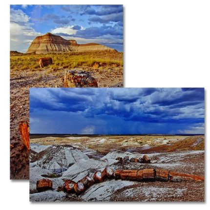 Metal prints on glossy aluminum metal