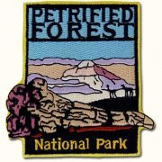 Petrified Forest National Park Patch - Blue Dawn