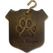 """""""Bark Ranger"""" Dog Collar Tag"""