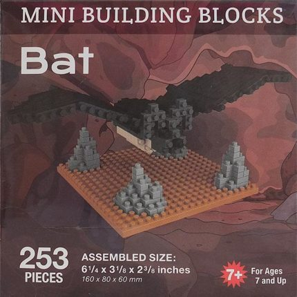 Bat Mini Building Blocks - Box
