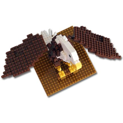 Bald Eagle Mini Building Blocks - Top View