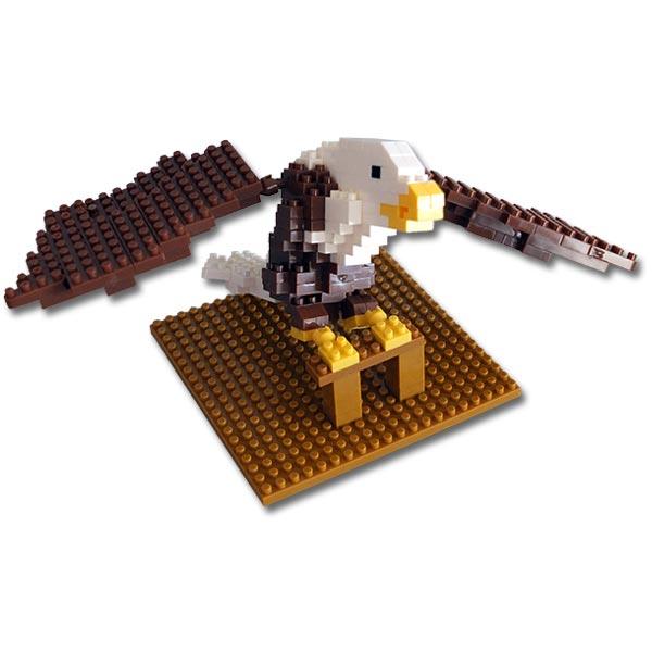 Bald Eagle Mini Building Blocks