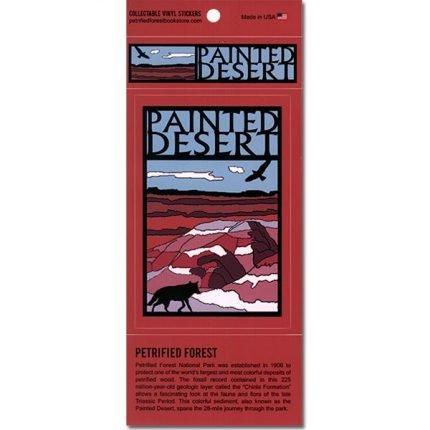 Painted Desert Vinyl Stickers