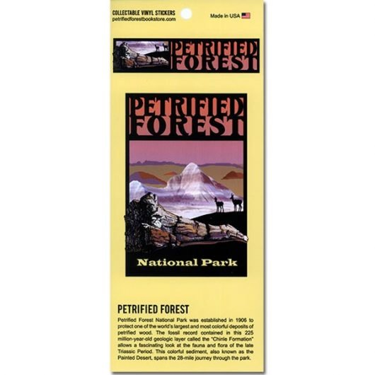 Petrified Forest National Park Vinyl Stickers
