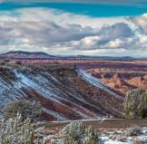 Painted Desert Inn in Winter | Photo by Andrew V. Kearns