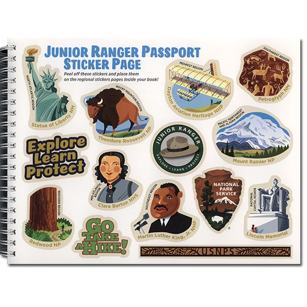 Passport to Your National Parks - Junior Ranger Edition (included stickers)