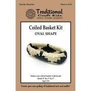 Coiled Basket Kit - Oval Shape