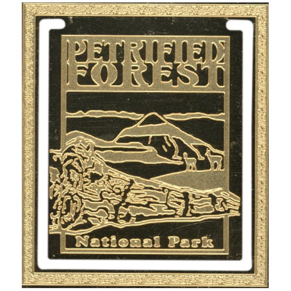 Limited Edition Brass Petrified Forest Bookmark
