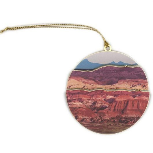 Painted Desert Holiday Ornament