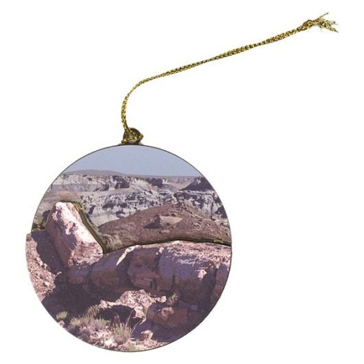 Petrified Forest Holiday Ornament