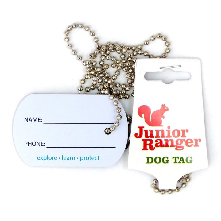 Junior Ranger Dog Tag - ID Side